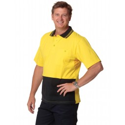 Cotton Jersey Safety Polo