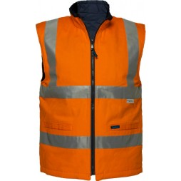 100% Cotton Reversible Vest