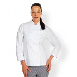 Ladies Long Sleeve Chef's Jacket