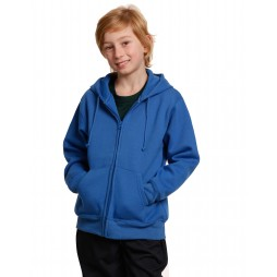 Kids Double Bay Full Zip Fleecy Hoodie