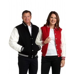 Adults Wool Blend Varsity Jacket