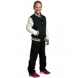 Kids Wool Blend Varsity Jacket