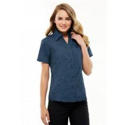 Ladies Printed Oasis Short Sleeve Shirt